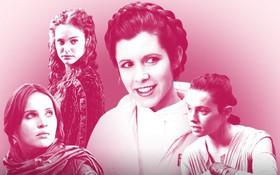 """Khí chất hoàng gia và dòng máu nổi loạn: Chân dung 7 nữ chiến binh của """"Star Wars"""""""