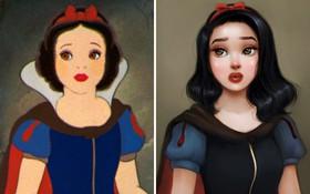 Chiêm ngưỡng nhan sắc lồng lộn của những nàng công chúa Disney sau khi đi phẫu thuật thẩm mỹ