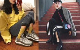 Tất dài qua mắt cá chân: không chỉ ấm, trendy mà còn dễ mix với mọi loại giày