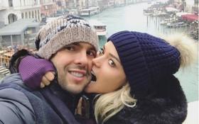 Những khoảnh khắc đẹp hút hồn của Kaka và vợ sắp cưới Carolina Dias