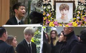 Lễ viếng Jonghyun: Minho cố cười, Key mếu máo khóc, bạn gái cũ Shin Se Kyung bất ngờ đến viếng sau EXO, Wanna One