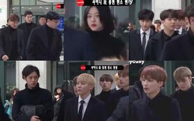 Đêm cuối cùng viếng Jonghyun: Sulli và Krystal gây chú ý, Yoo Jae Suk, Lee Kwang Soo, Seventeen và loạt nhóm nhạc xuất hiện