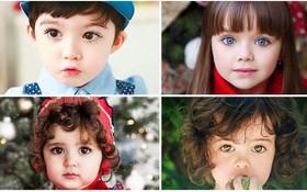 4 nhóc tỳ sở hữu đôi mắt đẹp hút hồn khiến triệu người chao đảo