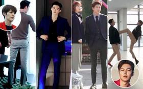 Bạn sẽ bị choáng khi xem loạt ảnh về cặp chân dài khủng khiếp của 7 mĩ nam Hàn này