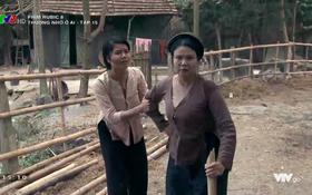 Giữ chồng như phụ nữ làng Đông: Tát nhân tình ngã sõng soài rồi vác gậy đánh ghen!
