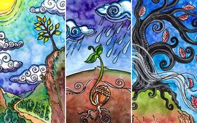 Chọn một lá bài Tarot cây cối để biết điều cần làm trong cuối năm cũ