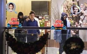 Luhan - Quan Hiểu Đồng mặc đồ đôi đi hẹn hò, nhưng sao cả hai lại xa cách thế này!