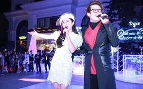 Màn song ca bất ngờ của Hà Anh Tuấn và Phương Ly lấy nhiều cảm xúc khán giả trong đêm Giáng sinh tại Hà Nội