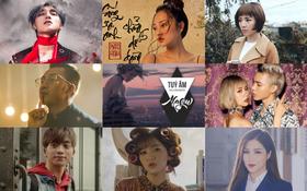 """10 MV Vpop ra mắt trong năm 2017 giữ """"ngôi vương"""" về lượt xem trên Youtube"""