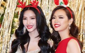"""Hoàng Thùy mặt trắng bệch, ngày càng """"bánh bèo"""" tại Hoa hậu Hoàn vũ VN"""