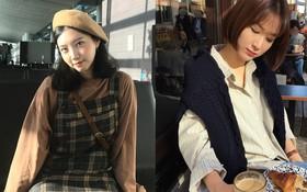 4 công thức mix đồ đơn giản nhưng cô gái Hàn nào cũng mê mệt suốt mùa Thu Đông năm nay