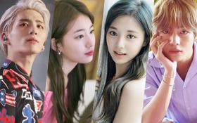 Top 100 gương mặt đẹp nhất thế giới gây tranh cãi: V (BTS) bỗng... giành hạng 1 ở bảng nam, Tzuyu vượt mặt cả Nana, Suzy