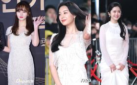Thảm đỏ KBS Drama Awards: Kim Ji Won gây sốc.. vì quá đẹp, Jang Nara đọ sắc với Kim So Hyun và dàn chị đại không tuổi