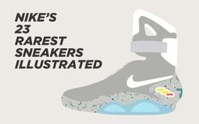"""Danh sách """"hot"""" nhất lúc này: 23 đôi sneakers Nike hiếm nhất mọi thời đại"""