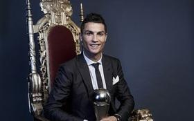 """Ronaldo giữ ngai """"Vua"""" Instagram 2017, Neymar sắp vượt Messi"""