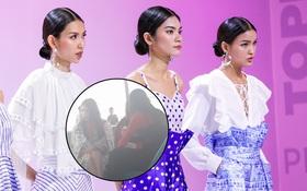"""Rò rỉ hình ảnh top 3 """"Vietnam's Next Top Model"""" xuất hiện tại Hàn Quốc"""