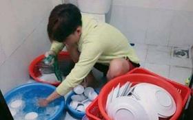 Tranh cãi lớn chuyện ngày đầu tiên về làm rể, anh chàng rửa nguyên mấy rổ bát đĩa