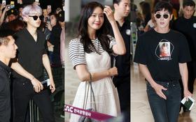 Dàn sao khủng nhà SM lại biến sân bay thành sàn diễn: SNSD đẹp xuất sắc, Yunho và EXO sang chảnh