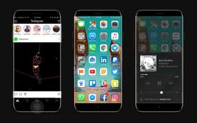 iPhone 8 sẽ đẹp mê ly như thế này khi ra mắt