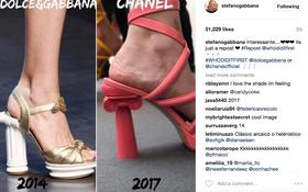 """Và lần này đến chính Dolce&Gabbana ám chỉ mình bị Chanel """"ăn cắp"""" ý tưởng"""
