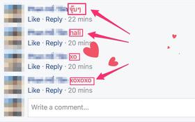 """Lý giải cho hiện tượng nổ tim khi bạn bình luận """"xo"""" và """"hali"""" trên Facebook"""