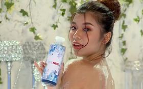 Clip The Face: Ngỡ ngàng quảng cáo sữa tắm lại không có nổi 1 nhãn hàng tài trợ, phải tự dán tên lên sản phẩm!