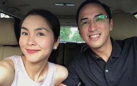 Hà Tăng và chồng kỷ niệm 5 năm ngày cưới trong không gian lãng mạn