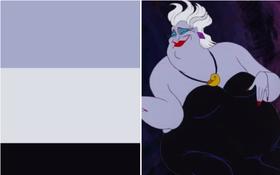 Nhìn 3 màu đơn giản, bạn có đoán được đây là nhân vật nào của Disney không?