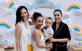Tăng Thanh Hà mặc giản dị nhưng vẫn nổi bần bật trong tiệc sinh nhật con trai ca sĩ Thảo Trang