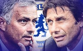 Man Utd vs Chelsea: Mourinho đang thua Conte quá nhiều