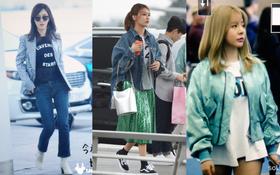 """3 thành viên SNSD xinh """"hết nấc"""" tại sân bay Hàn, chuẩn bị có mặt tại Việt Nam"""