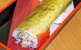 Sushi dát vàng sang mồm dành riêng cho hội thừa tiền