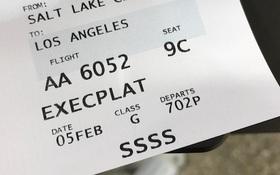 SSSS: Dãy ký tự bí ẩn trên thẻ lên máy bay mà không ai muốn nhìn thấy