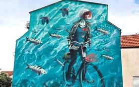 15 kiệt tác tranh đường phố khổng lồ của các họa sĩ tài năng