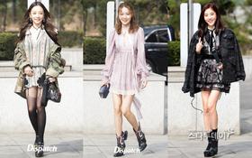 Cùng là khoe chân dài: Sooyoung và Goo Hara xinh xắn, Son Dam Bi lộ đùi gầy trơ xương