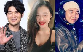 """Sau tin đồn bị """"cắm sừng"""", netizen phát hiện tình mới Sulli là bạn thân gần 10 năm của Choiza"""