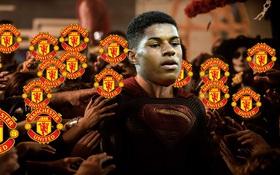 Ảnh chế: Rashford hóa siêu anh hùng sau khi giúp Man Utd đả bại Celta Vigo