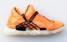 Bộ sưu tập sneaker chất chơi được làm từ sushi ngon mắt