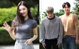 Sunmi minh chứng body quyến rũ nhất nhà JYP, đôi bạn Kai và Taemin sóng đôi tại sự kiện
