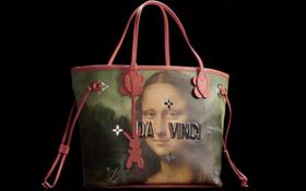 In hẳn hình Mona Lisa nhưng không ít người nhận thấy túi mới của Louis Vuitton... xấu thật