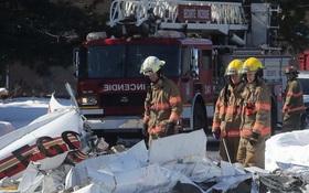 Hai máy bay đâm nhau rơi xuống khu mua sắm gây nhiều thương vong