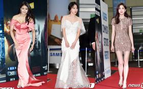 Thảm đỏ Korea Cable TV Awards 2017: Hani lộng lẫy lấn át cả dàn mỹ nhân nóng bỏng khoe chân dài