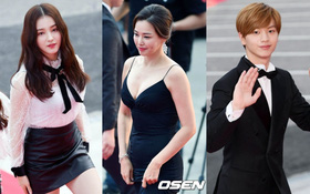 """Thảm đỏ Korea Drama Awards: """"Hoa hậu Hàn đẹp nhất thế giới"""" đẹp xuất sắc, nữ idol bỗng bật lên vì quá xinh"""