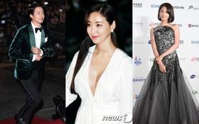 Thảm đỏ Oscar Hàn Quốc: Hoa hậu gây sốc với ngực siêu khủng, Yoona và Jo In Sung dẫn đầu dàn siêu sao