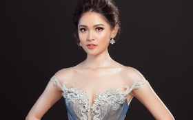 Á hậu Thùy Dung lộng lẫy như công chúa trong đầm dạ hội chính thức tại chung kết Miss International 2017
