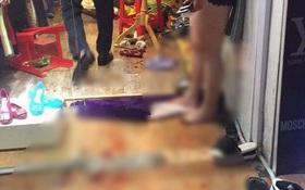 Nam thanh niên xông vào cửa hàng quần áo ở phố cổ Hà Nội truy sát vợ do ghen tuông