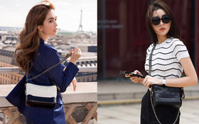 Ngọc Trinh, Kỳ Duyên và loạt mỹ nhân Việt đang đổ gục trước mẫu túi Chanel Gabrielle