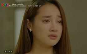 Linh (Nhã Phương) khóc đỏ mắt bởi thấy Junsu (Kang Tae Oh) trước mặt mà không thể đến gần