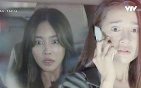 Cynthia (Jung Hae Na) căm hận lao ô tô vào Linh (Nhã Phương)