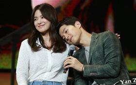 """Chưa cưới Song Hye Kyo nhưng Song Joong Ki đã thỏ thẻ bày tỏ: """"Lời nói của bà xã thì luôn luôn đúng"""""""